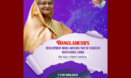 Bangladesh's development model matches that of stages in South Korea, China: Wall Street Journal